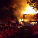 Fire Destroys North Stamford House
