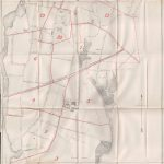 1885 Borough of Stamford Fire Districts, Hydrants & Water Pipes