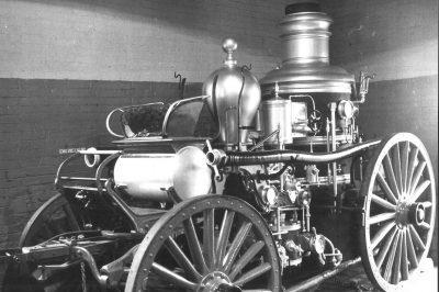 Stamford 1906 Amoskeag Steamer Engine