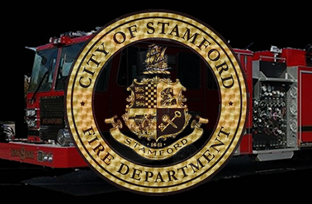 Stamford Firefighters Respond to a Motorcyclist Down on High Ridge Road