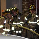 Quick Action of Firefighters Prevents Spread of Fire