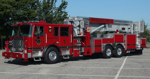 Stamford Ct Fire Department Adds 95 Foot Seagrave