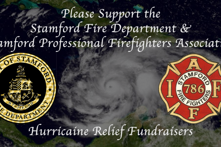 Stamford Fire Department and the Stamford Professional Fire Fighters Association to run 2 fundraisers for hurricane victims